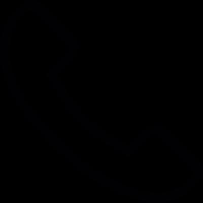 Call answer, IOS 7 interface symbol vector logo