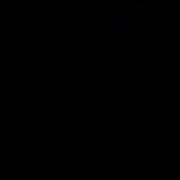 Bread black, IOS 7 interface symbol vector