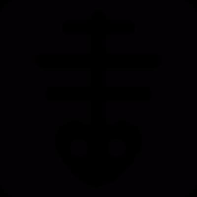Fishbone vector logo