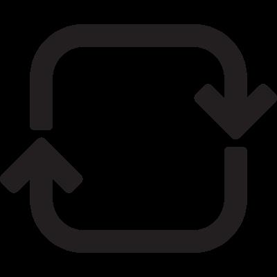 Counter Arrow vector logo