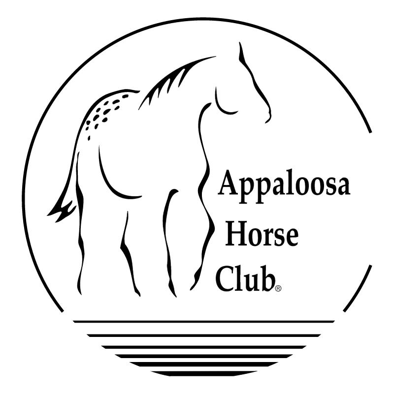 Appaloosa Horse Club vector