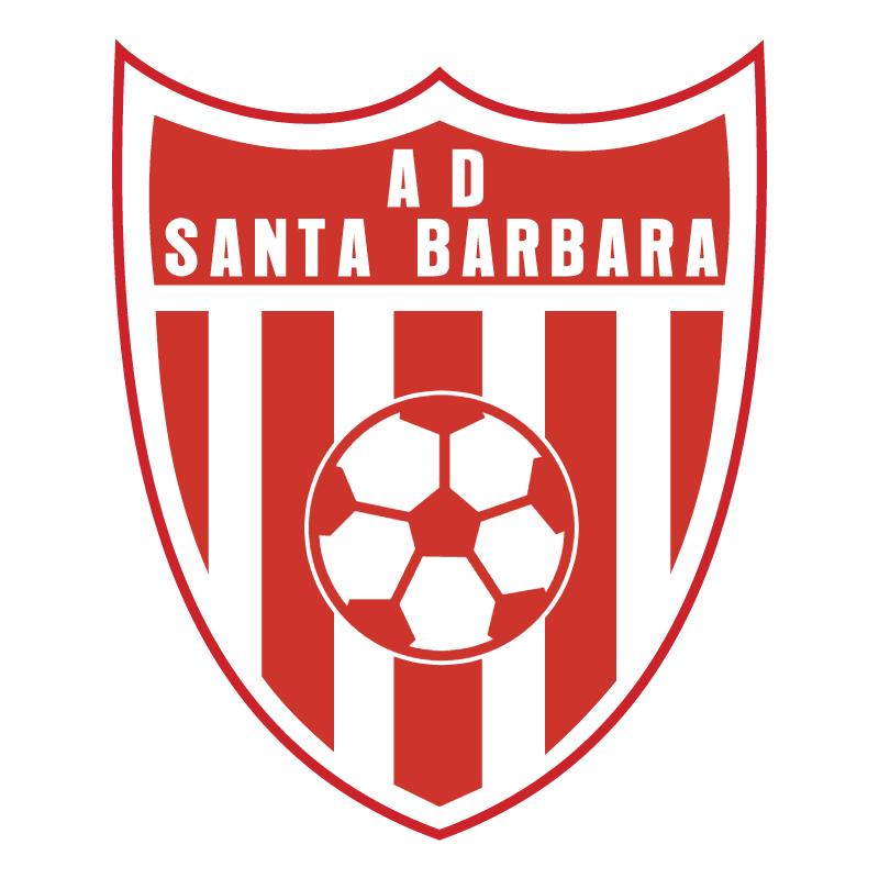 Asociacion Deportiva Santa Barbara de Santa Barbara vector