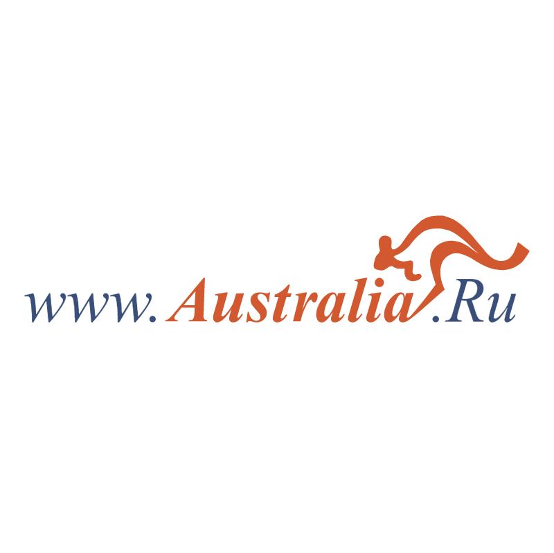 Australia RU vector