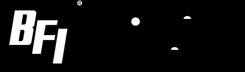 BFI vector logo