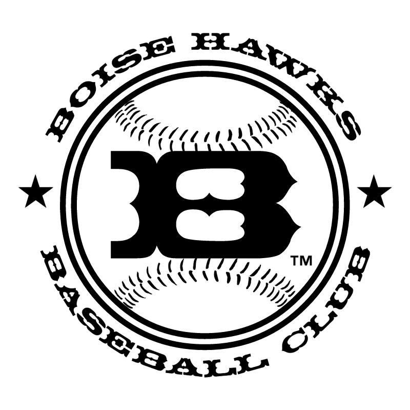 Boise Hawks 58723 vector