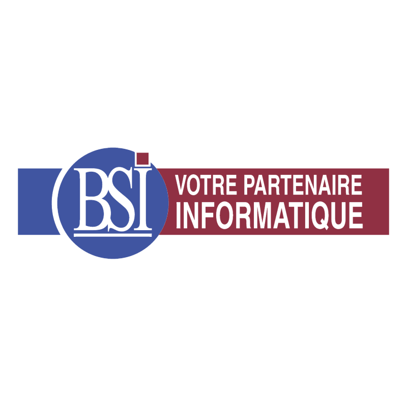 BSI vector logo