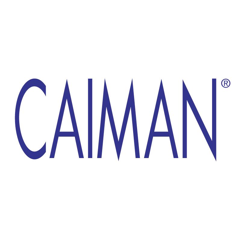Caiman vector logo