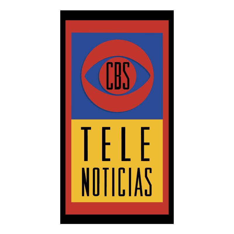 CBS Tele Noticias vector logo