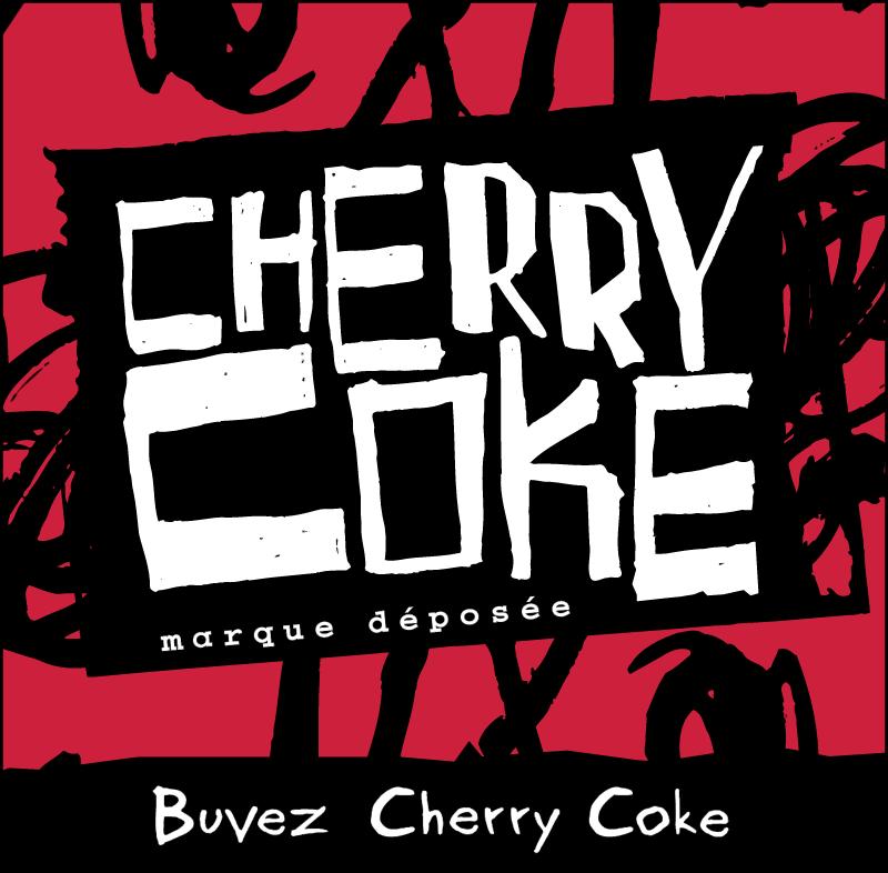 Cherry Coke logo vector logo