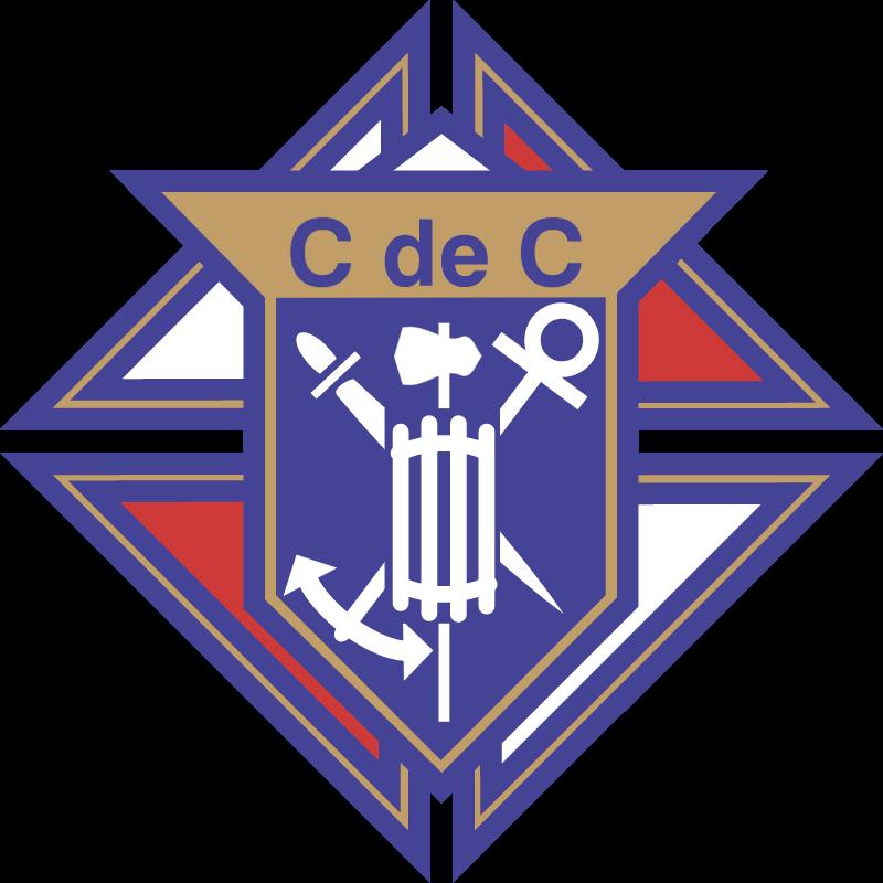 Chevaliers de colomb vector logo