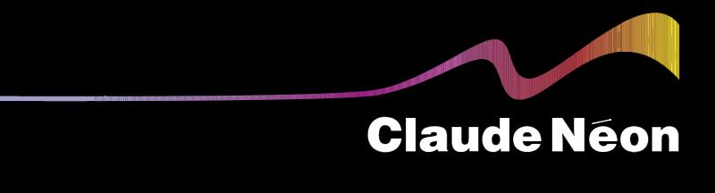 Claude Neon logo vector