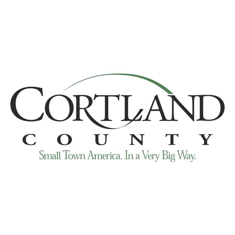 Cortland County vector