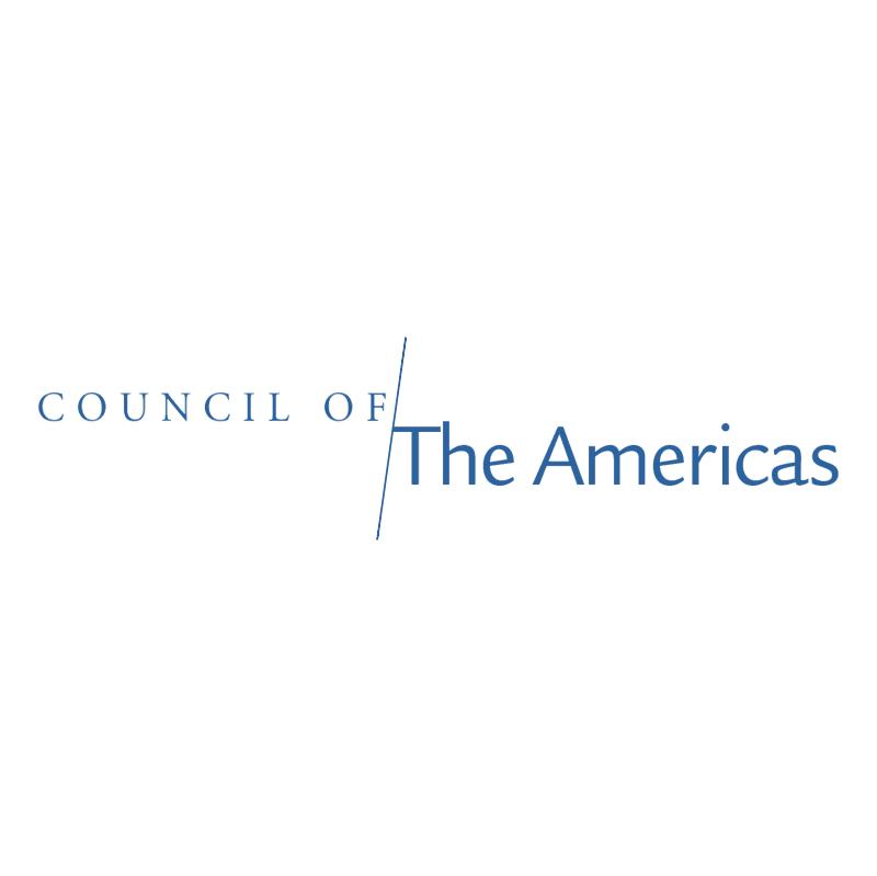 Council Of The Americas vector logo