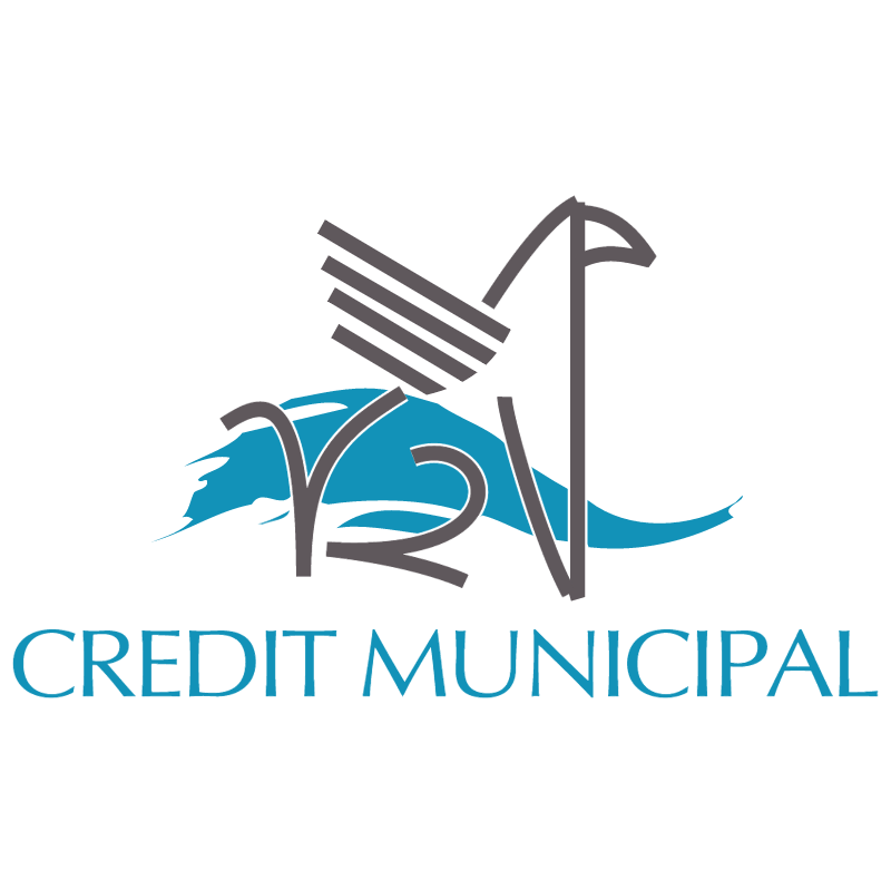 Credit Municipal vector