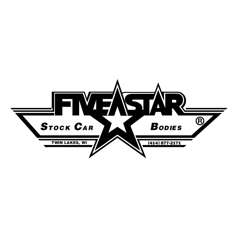 Five Star vector logo