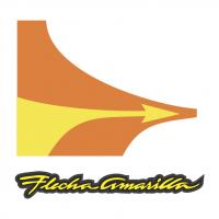 Flecha Amarilla vector