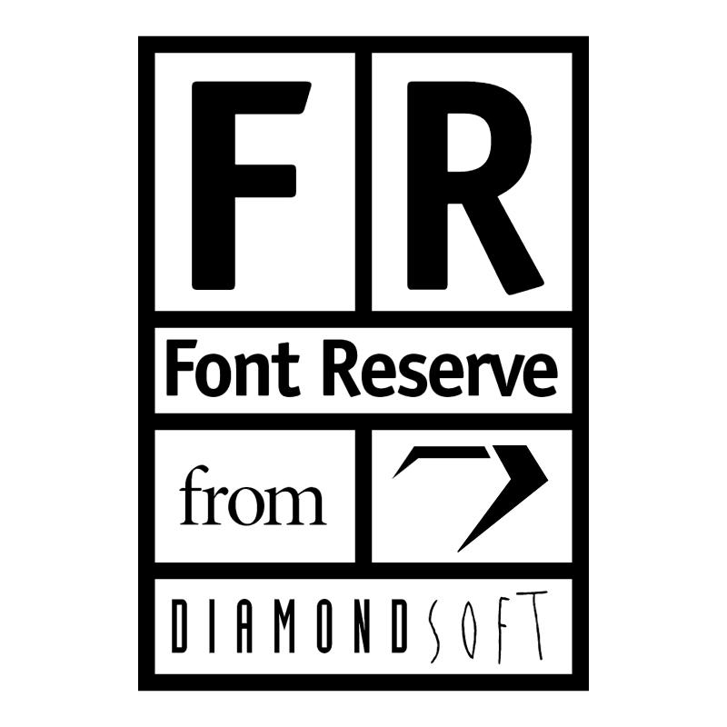 FontReserve vector logo