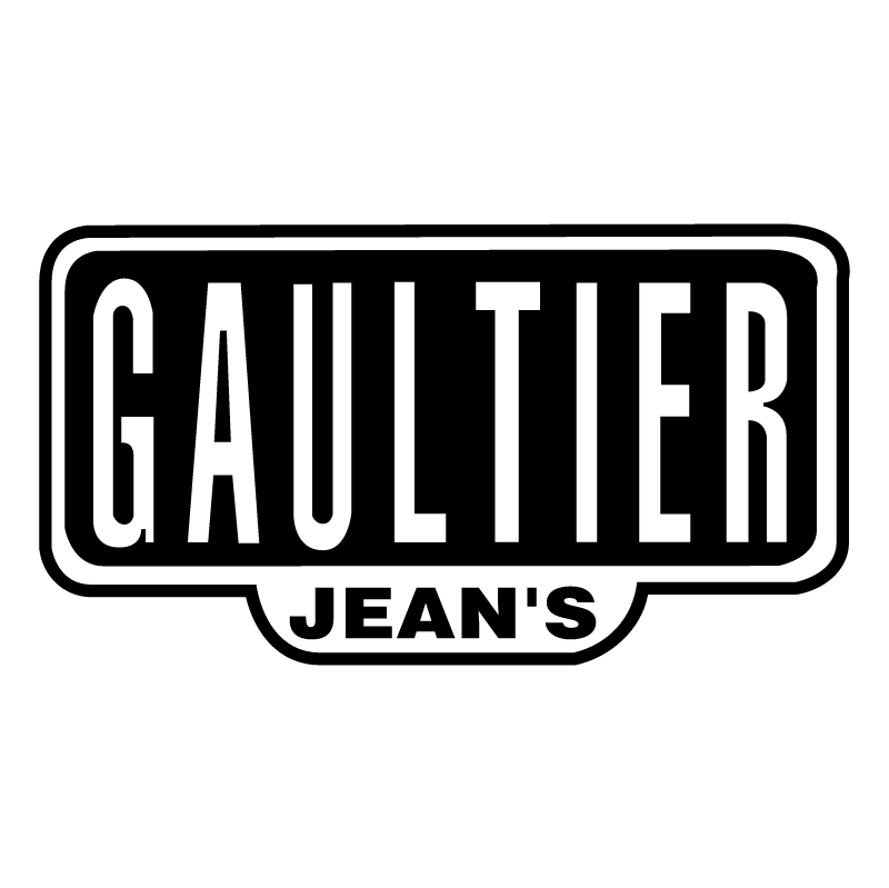 Gaultier Jean's vector logo