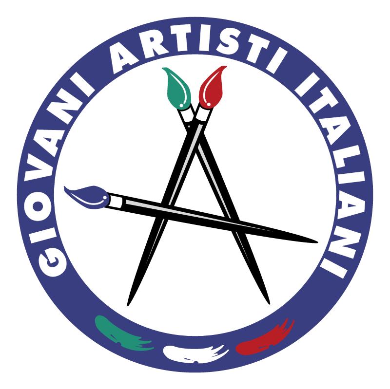 Giovani Artisti Italiani vector