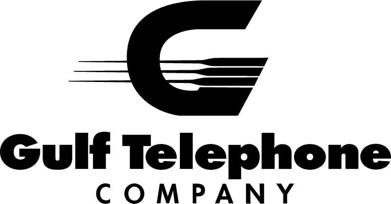 Gulf Telephone Co vector logo