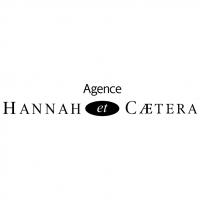 Hannah et Caetera vector