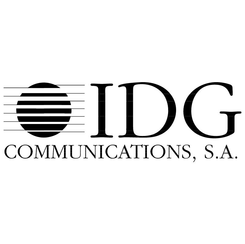 IDG Communications vector logo