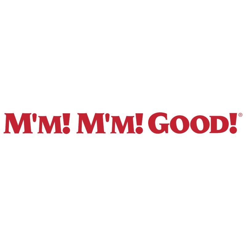 M'm! M'm! Good! vector
