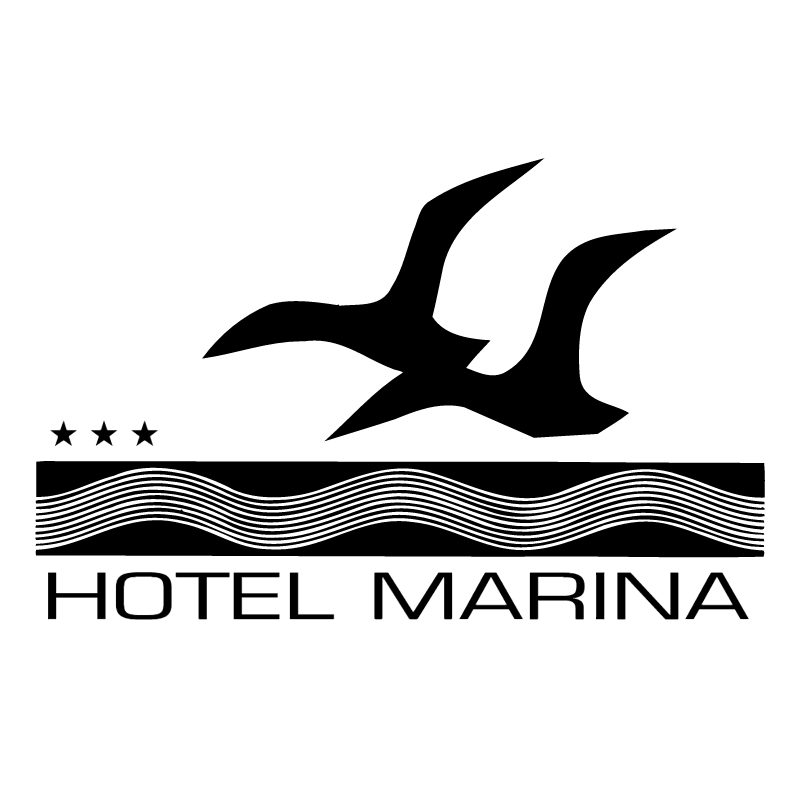 Marina Hotel vector