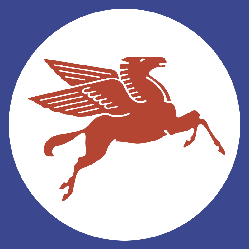 Mobil Pegasus vector