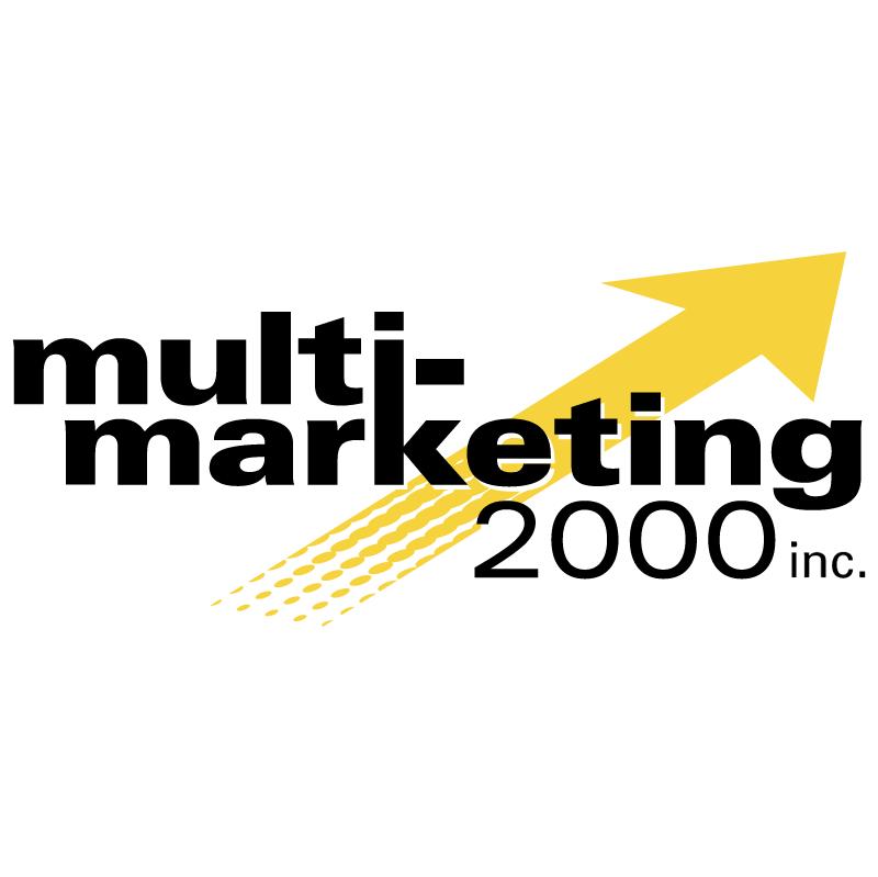 Multi Marketing 2000 vector