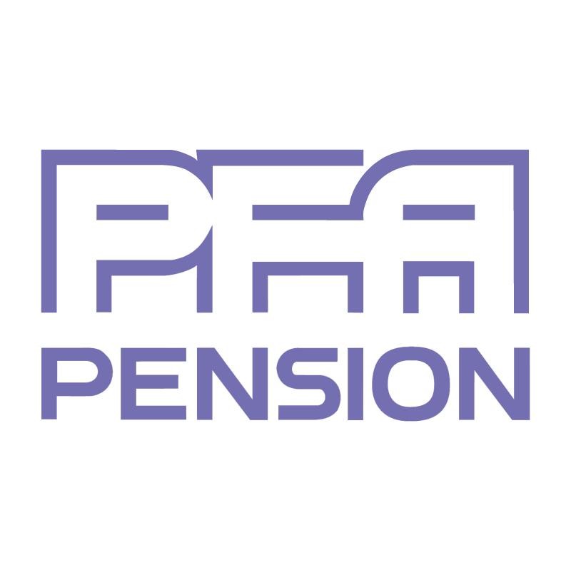 PFA Pension vector
