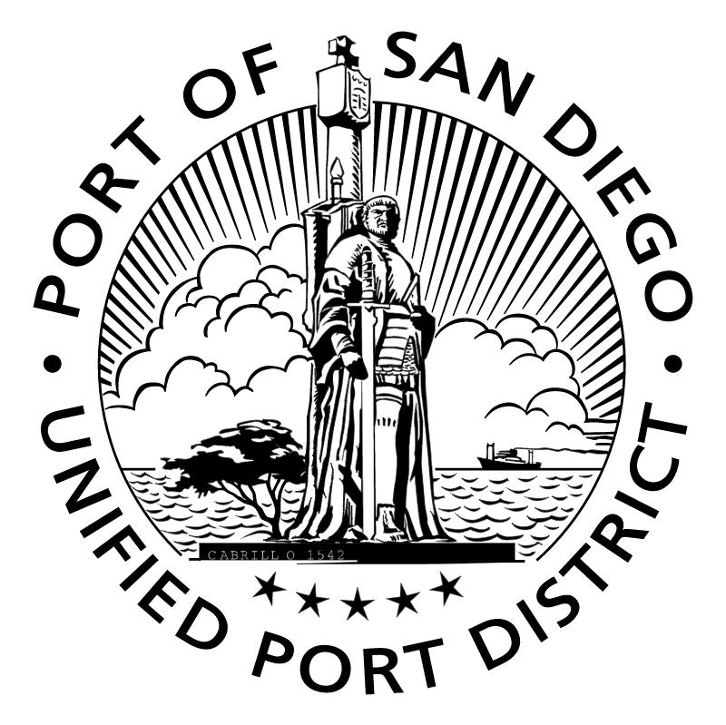 Port of San Diego vector