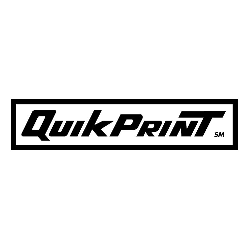 Quik Print vector
