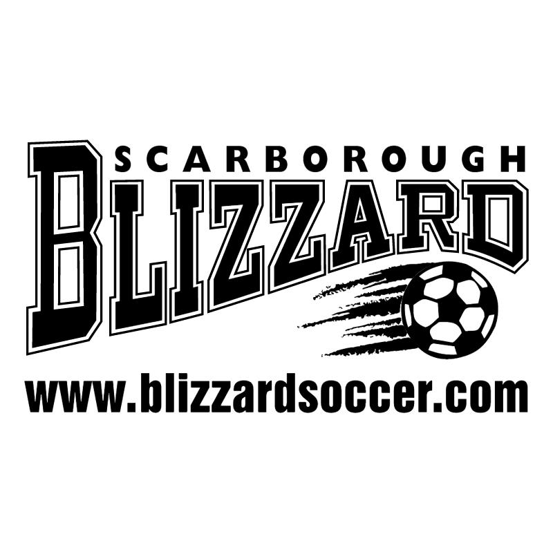 Scarborough Blizzard Soccer vector logo