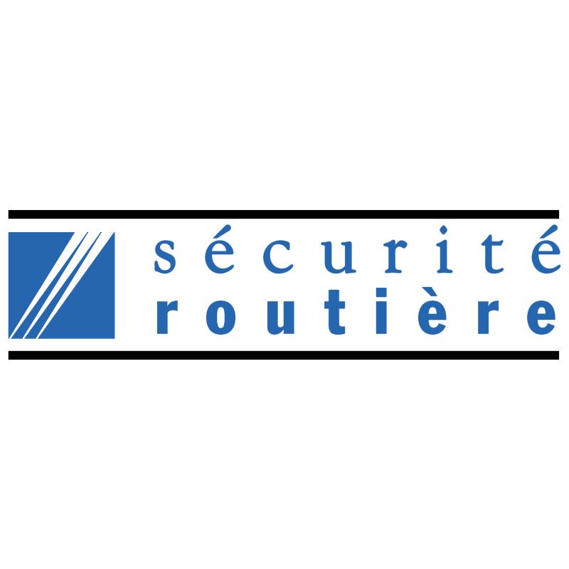 Securite Routiere vector