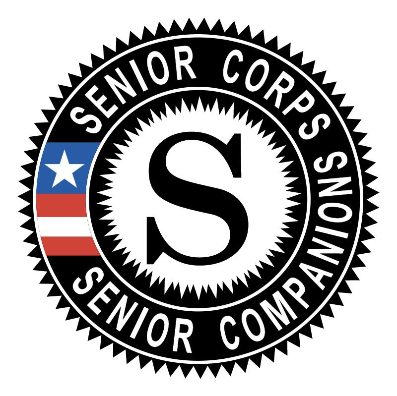 Senior Corps Senior Companions vector
