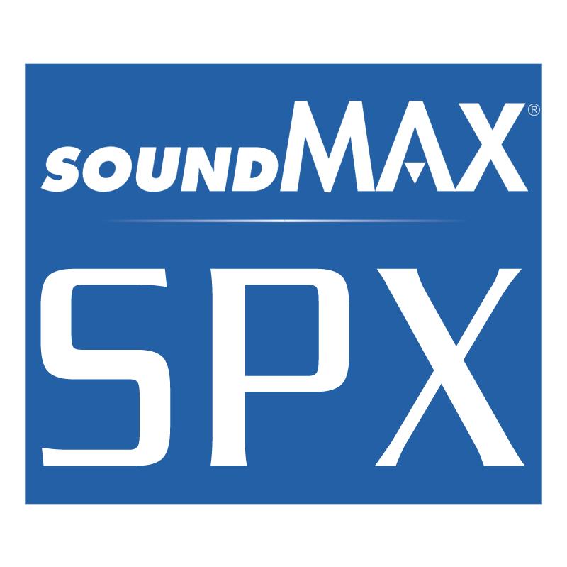 SoundMAX SPX vector logo