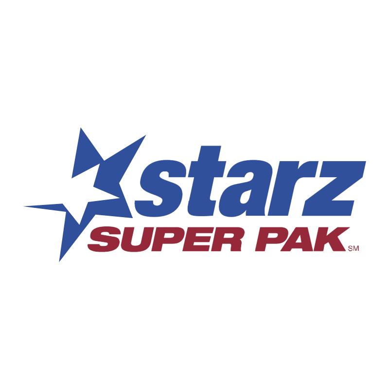 Starz Super Pak vector