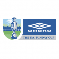 The FA Sunday Cup vector
