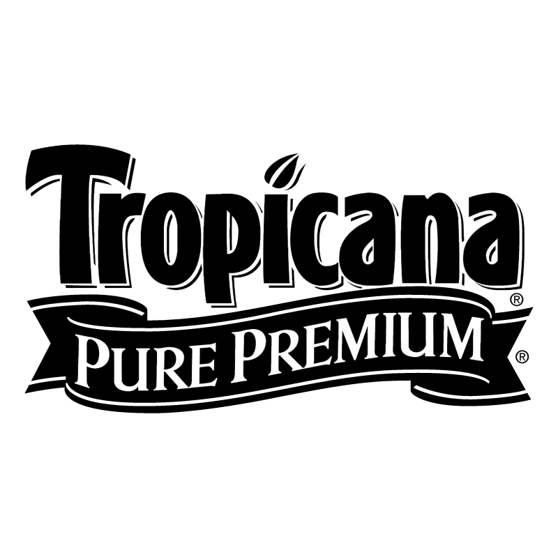 Tropicana Pure Premium vector