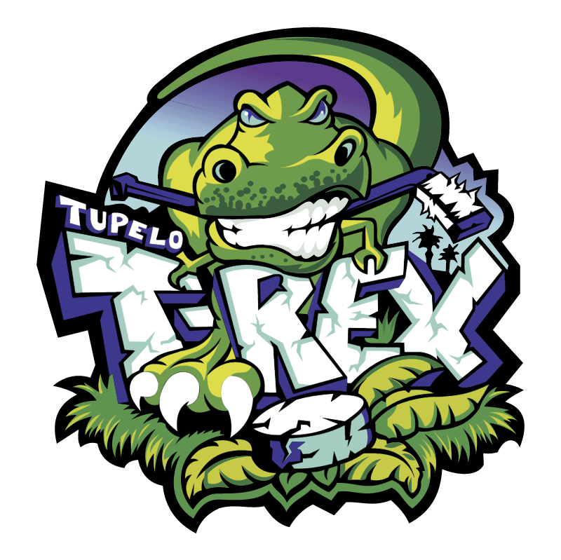 Tupelo T Rex vector