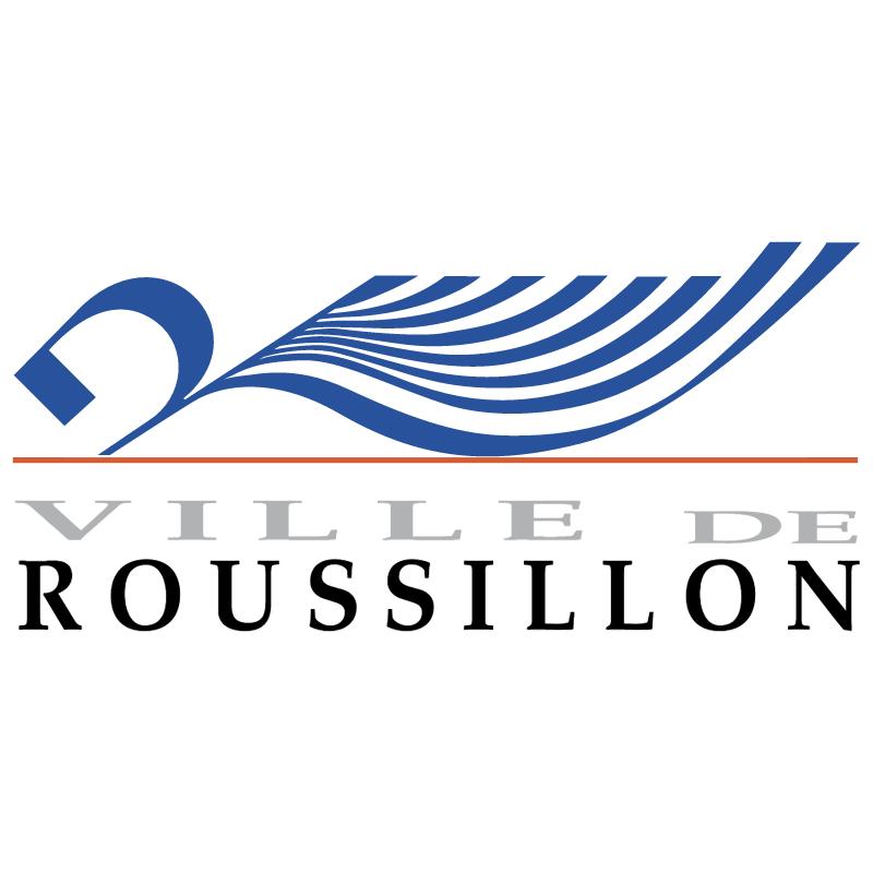 Ville de Roussillon vector logo