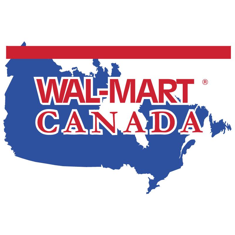 Wal Mart Canada vector