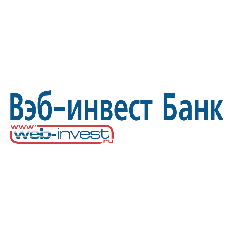 Web invest Bank vector