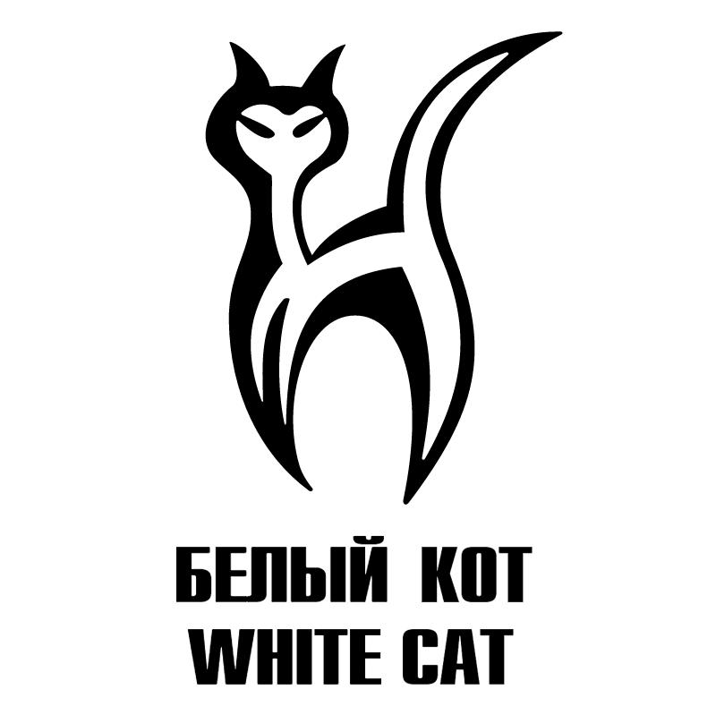 White Cat vector