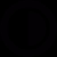 Contrast button vector