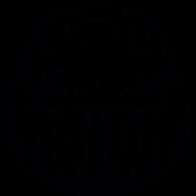 Japanese demon vector logo