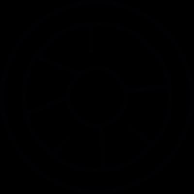 Starwars spaceship vector logo