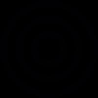 Bullseye game vector