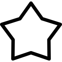 Favourites star vector